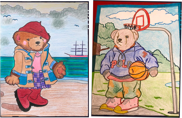 The Polo Bear Coloring  Book